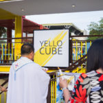 Blessing at Yello Cube